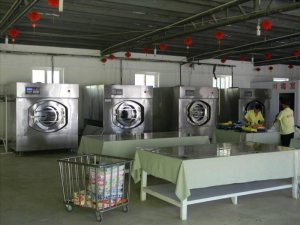 保定水洗厂设备,宾馆洗衣房设备