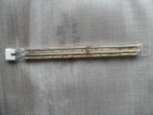 供应镀金孪管红外线加热管