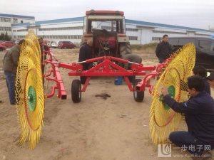 供应圆盘搂草机拖拉机后置牵引设计简单巧妙