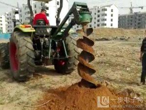 供应拖拉机挖坑机多少钱一台