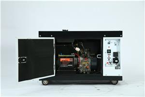 供应17千瓦便携式变频柴油发电机