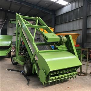養殖車自動取料機青貯窖池取草機